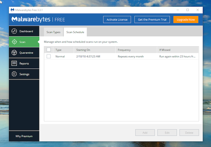 malwarebytes scan for rootkits