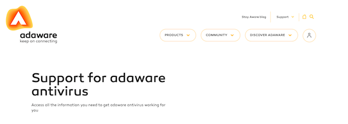 Adaware Antivirus Free Supported Devices