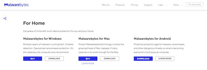 malwarebytes for android free