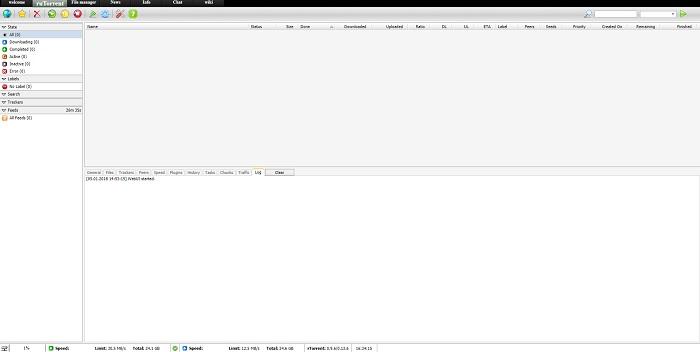 Seedbox Screenshot
