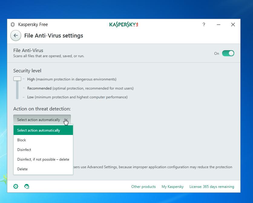 Kaspersky File Antivirus