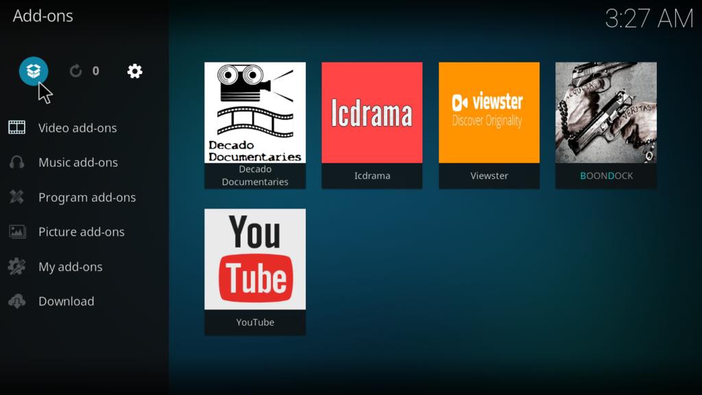 YouTube Kodi Addon - Package Icon