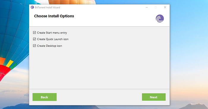 BitTorrent Installation Shortcuts