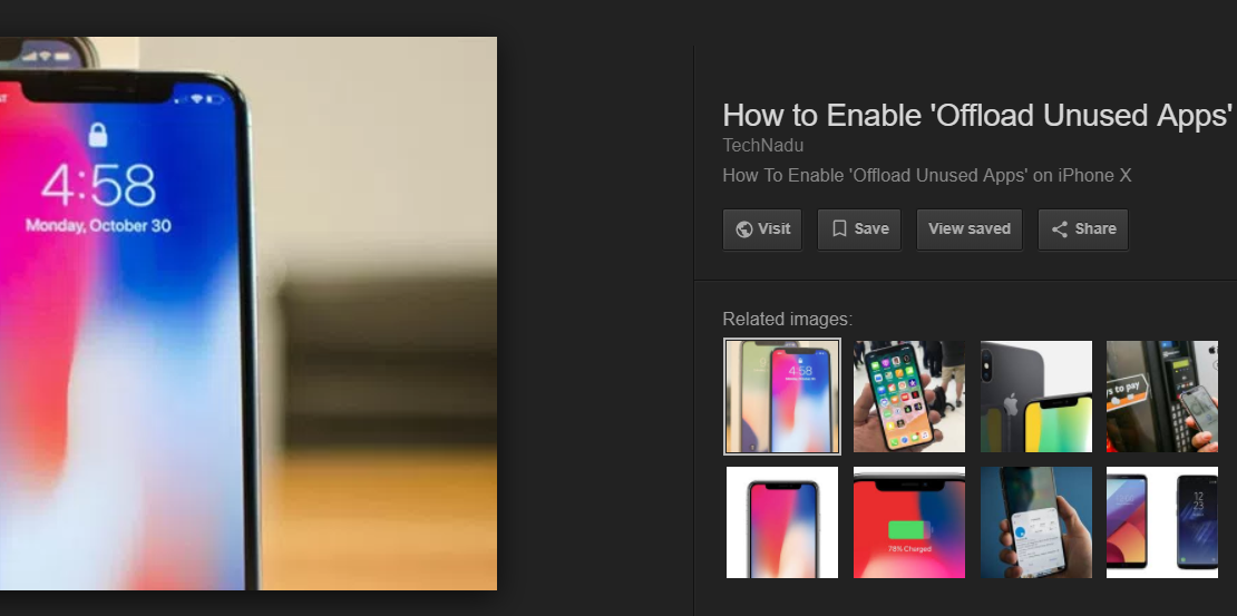 google stops showing view image button from the search