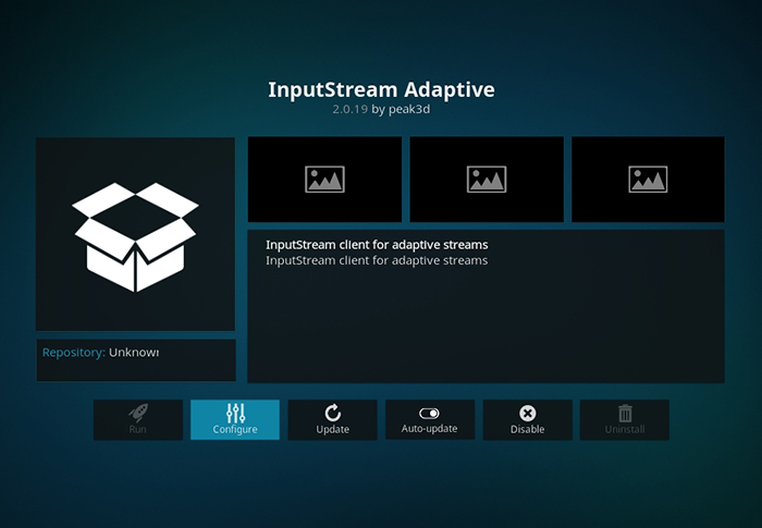 InputStream Kodi