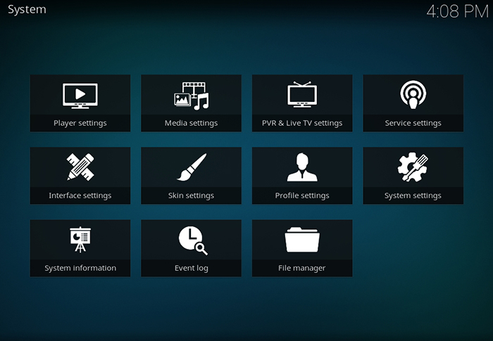 Kodi File Manager