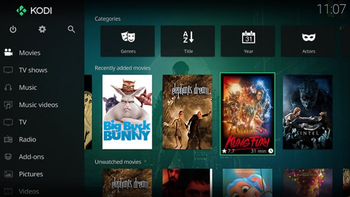 Kodi Media Collection