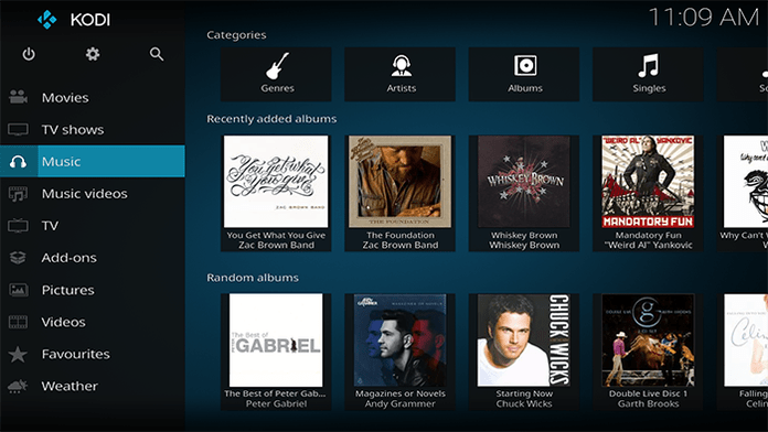 Kodi Music Collection