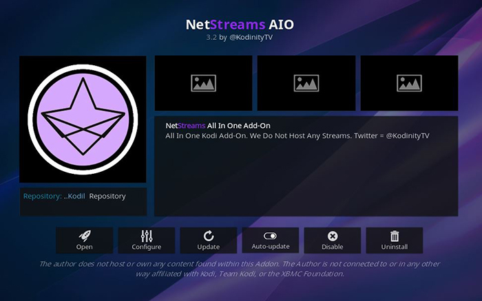 NetStreams AIO