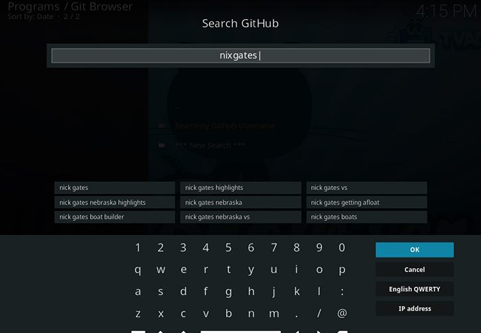 Ultimate Kodi Installation Guide - Using Git Browser to