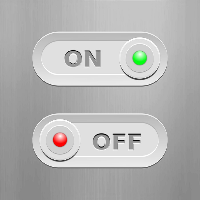 ON and OFF Switches