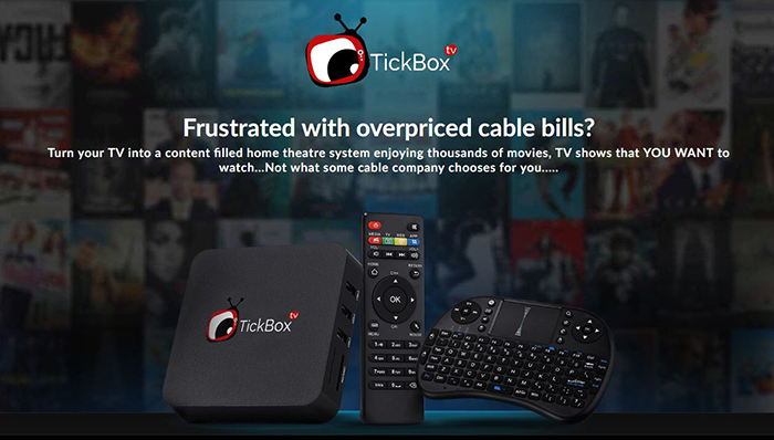 TickBox TV Website