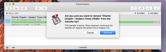 Transmission Mac Torrent Removal