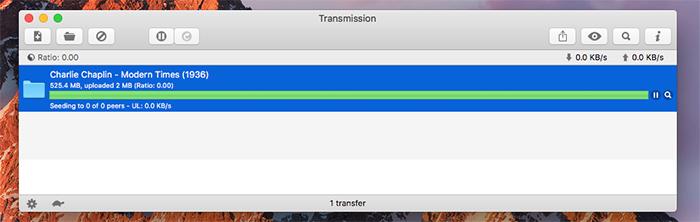 Transmisson Mac Torrent Seeding
