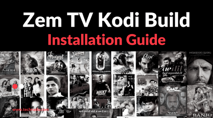 Zem TV Kodi Addon – A Mixture of Content from India and