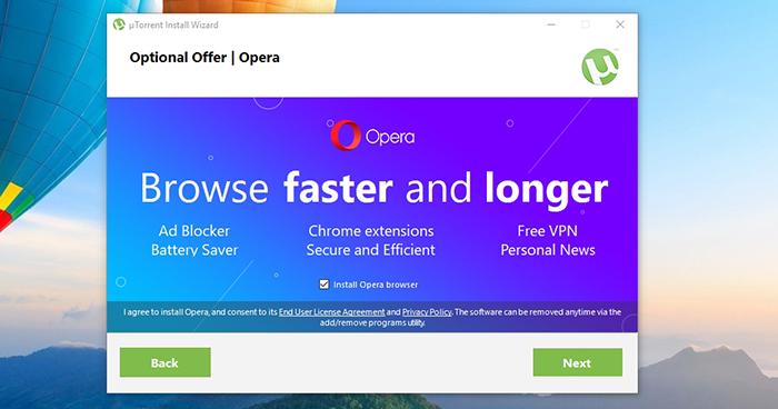 uTorrent Opera Bundle