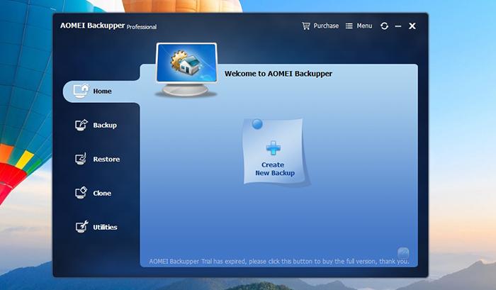 AOMEI Backupper Pro -Platform Compatibility