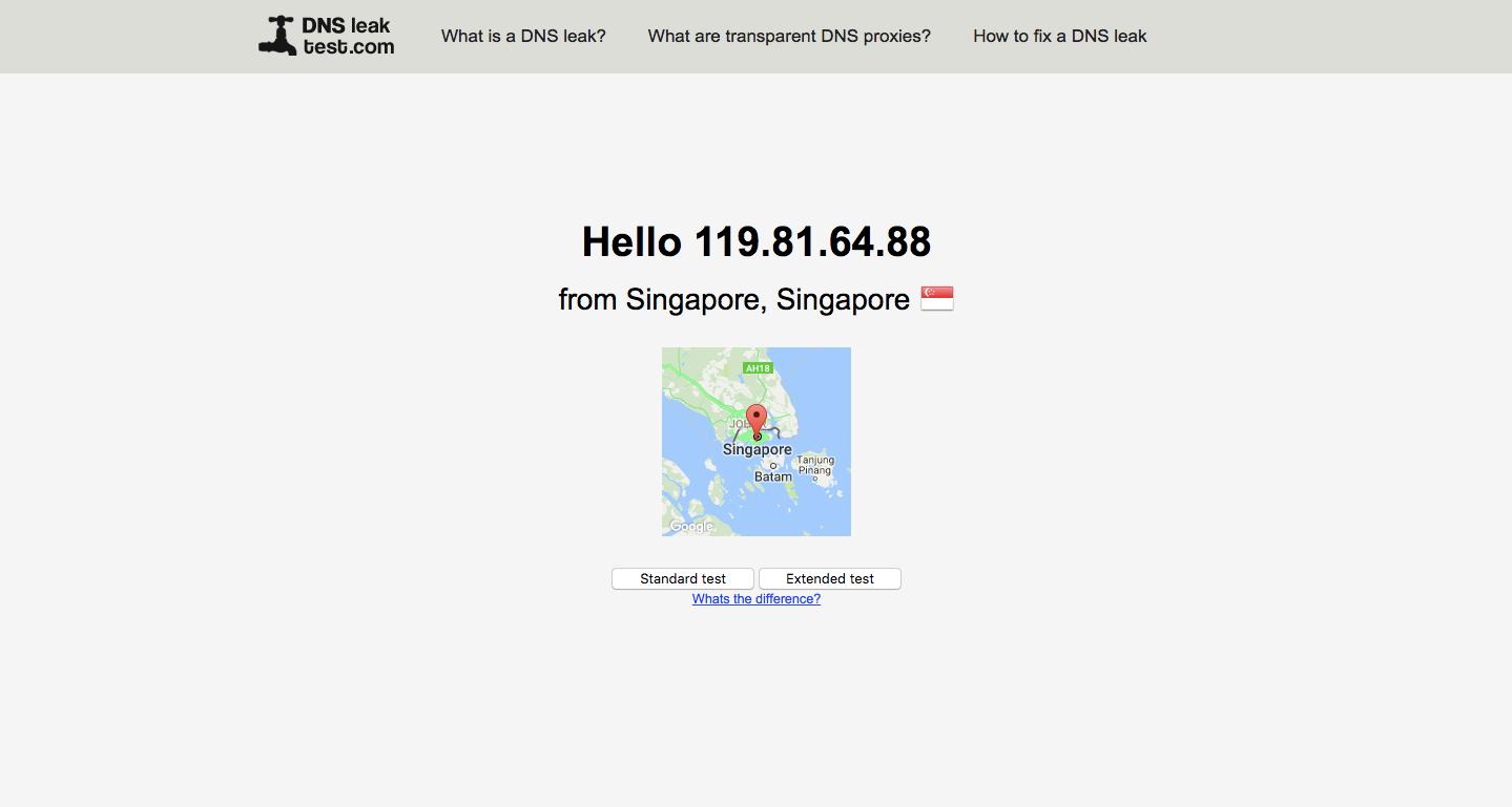 Cargo VPN DNS Leak