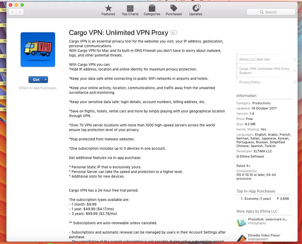 Cargo VPN Download