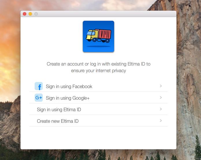 Cargo VPN Screen