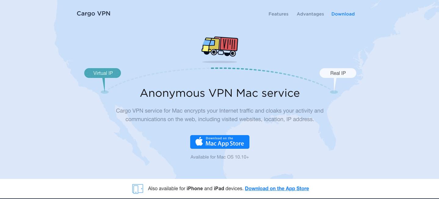 Cargo VPN Website