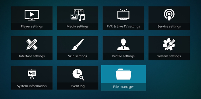 Durex Kodi Build -File Manager