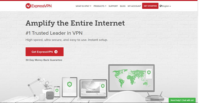 ExpressVPN Best VPN for Apple TV