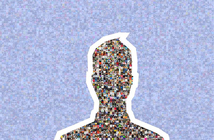 Facebook Silhouette