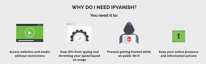 IPVanish Ad