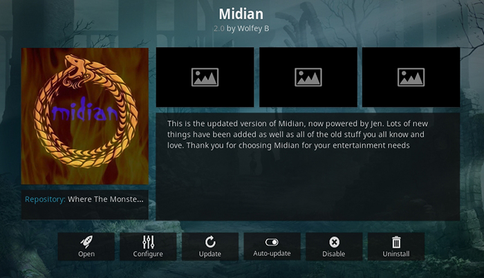 Midian Kodi Addon