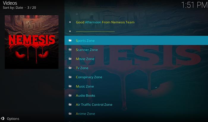 Nemesis Home Page