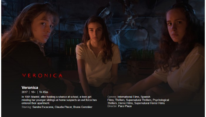 "Netflix Horror Movie ""Veronica"" Got 100% On Rotten Tomatoes"