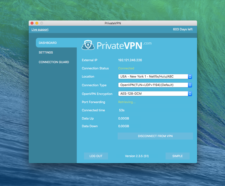 PrivateVPN Advanced