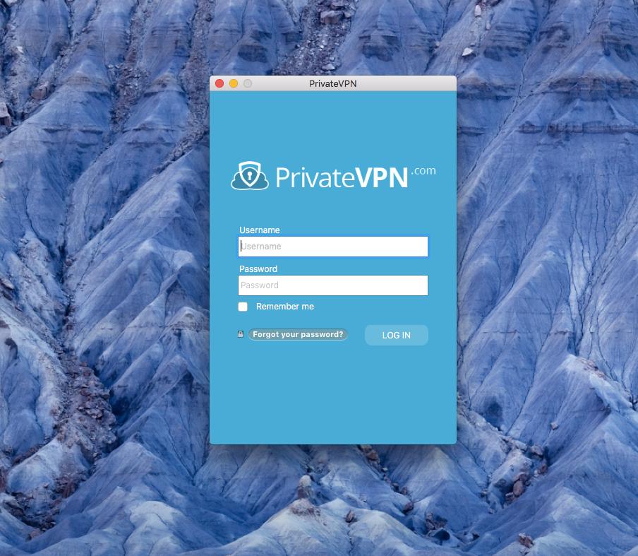 PrivateVPN Login