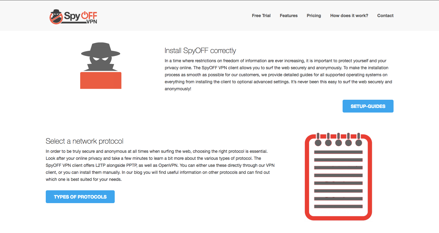 SpyOFF VPN Features2