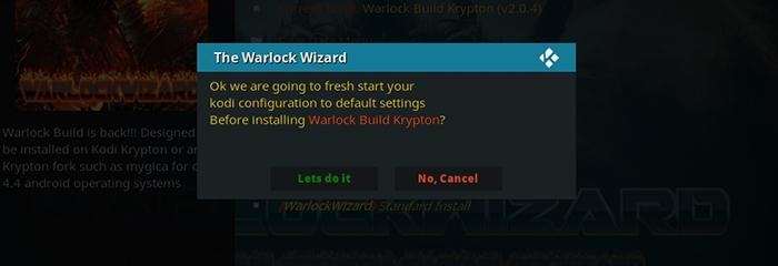 How to Install Warlock Kodi Build: 18 Steps (Instruction
