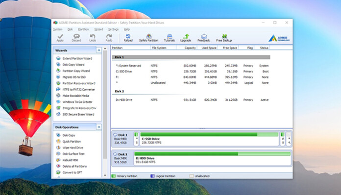 AOMEI Partition Assistant Review - Featured