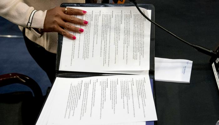 AP photographer Andrew Harnik Zuckerberg's Notes