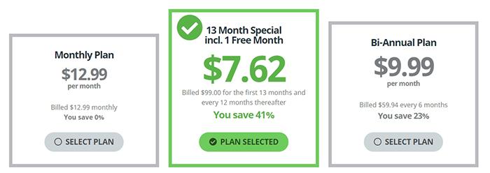 Buffered VPN Pricing