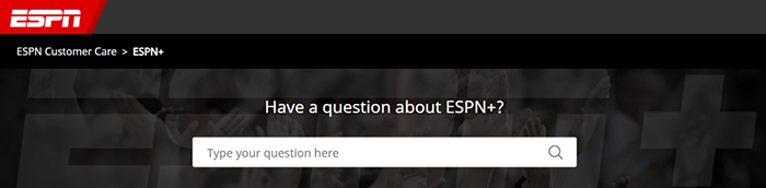 ESPN+ Review - Customer Support