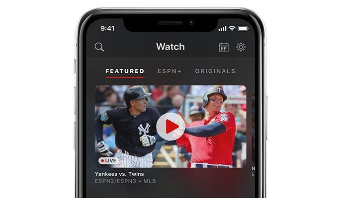 ESPN+ Review - User Interface