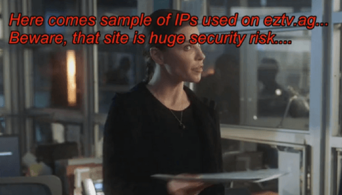 EZTV Users Get Security Warning From Disturbing Torrent - TechNadu