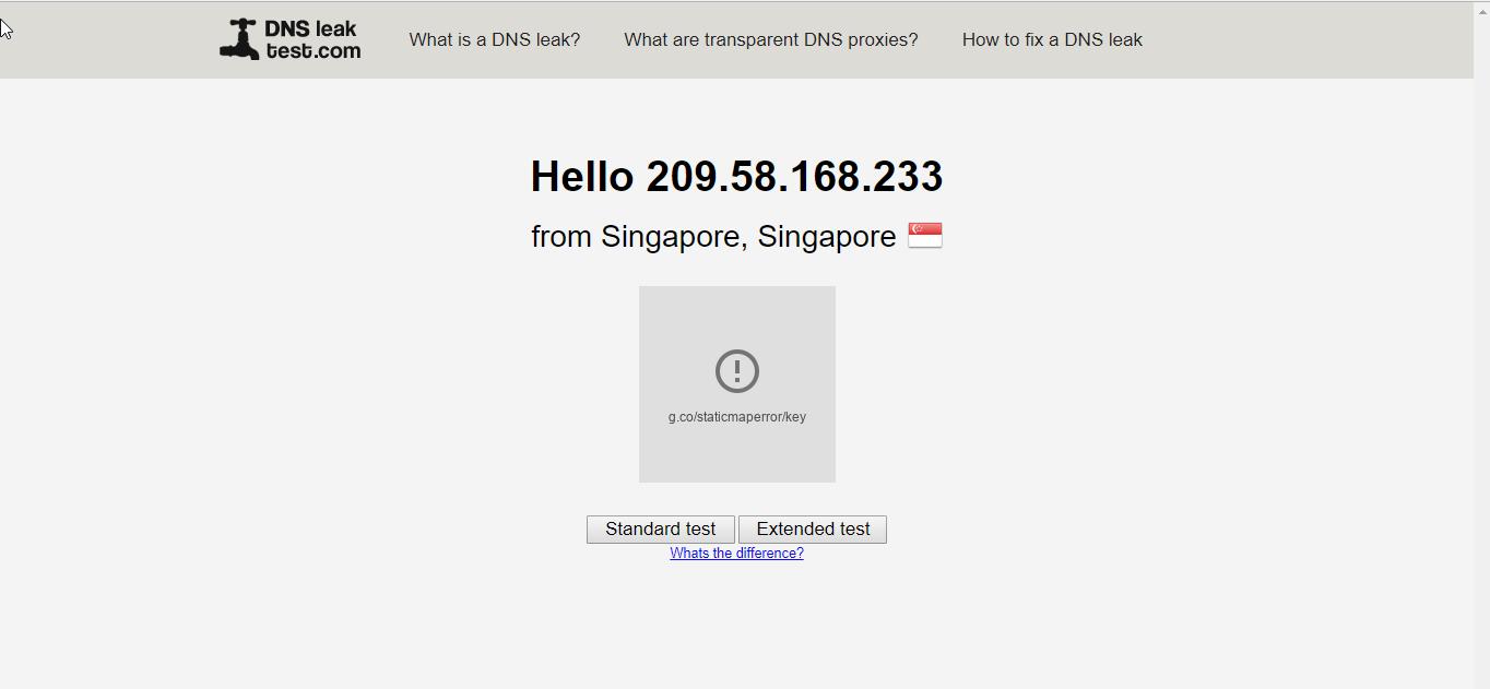 ProtonVPN DNS Leak
