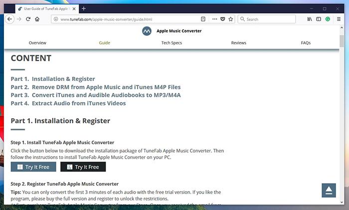 TuneFab Apple Music Converter - Customer Support