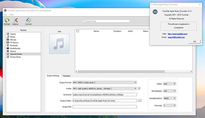 TuneFab Apple Music Converter - Platform Compatibility