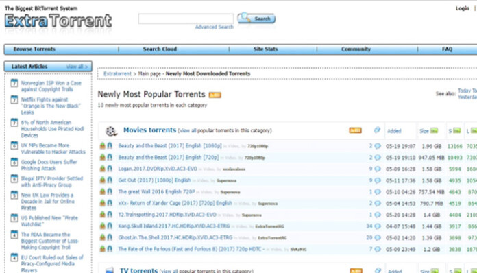 kickass torrents custom search