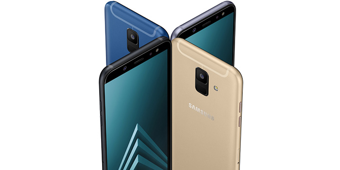 Galaxy a6 and a6+