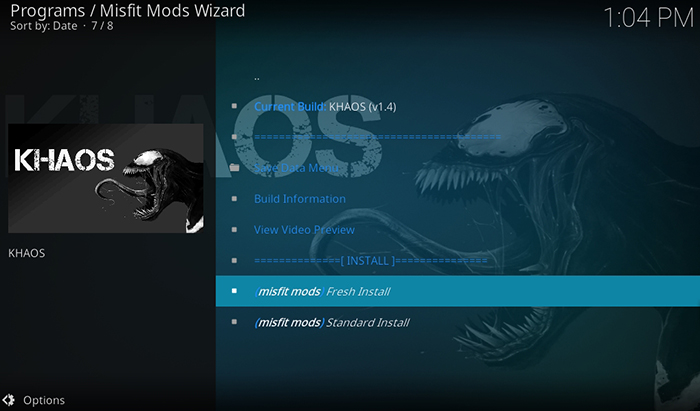 14 Steps to Install KHAOS Kodi Build in 2019 (with Pictures) - TechNadu