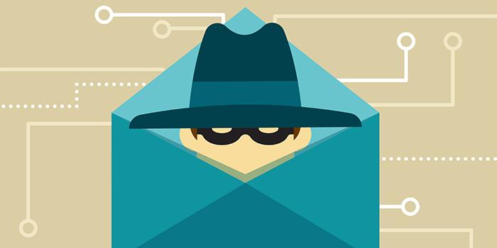 Malware email art