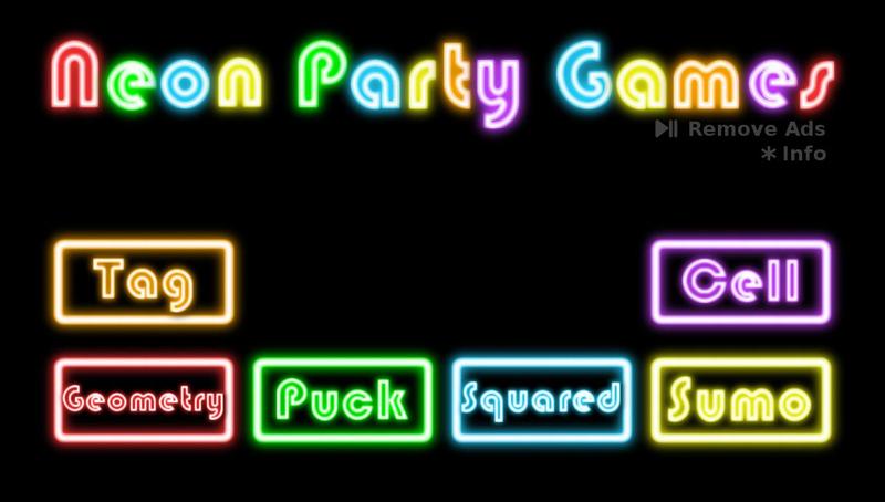 Neon Party Games Roku